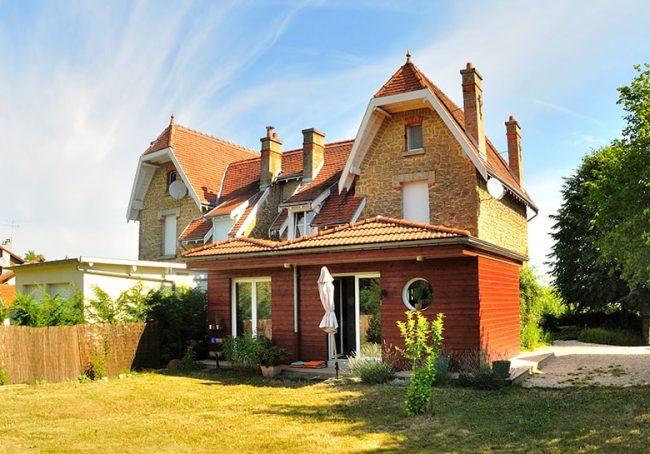 Agrandir sa maison avec une extension en ossature bois à Reims
