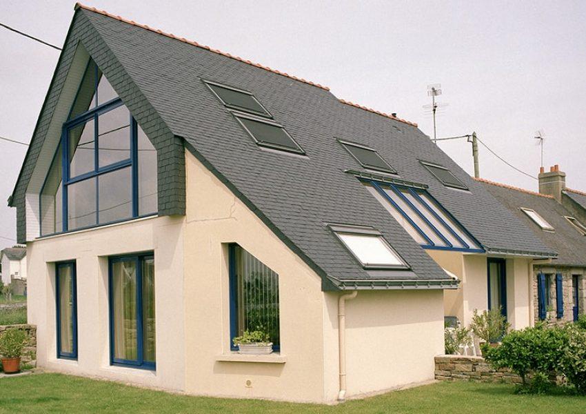 Agrandir sa maison pour lui apporter modernité et lumière dans le Morbihan