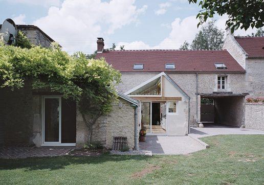 Extension de maison ancienne dans le Calvados