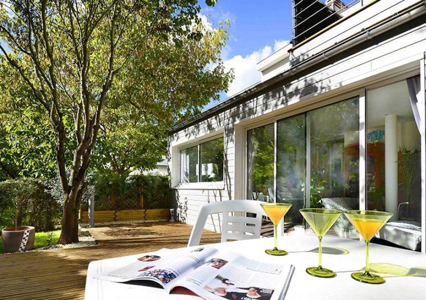 Extension de maison en ossature bois à La Rochelle