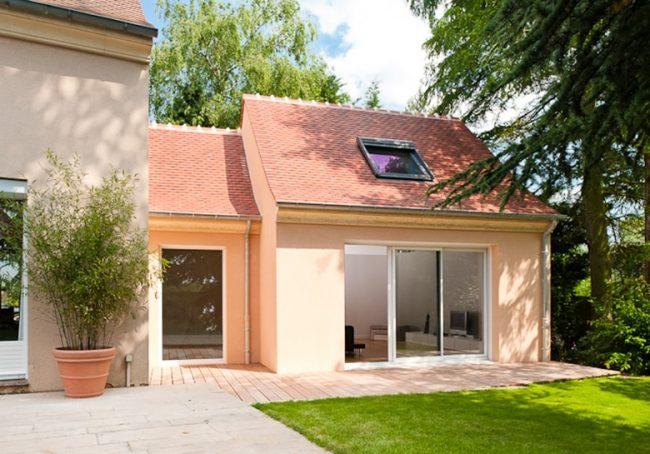 Extension de maison traditonnelle pour repenser les espaces près de Poissy