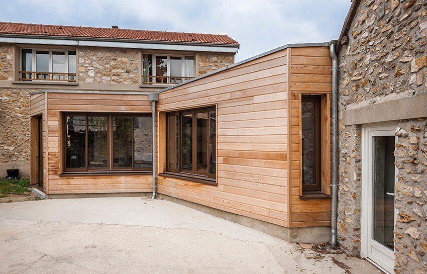 construire une extension en bois pour agrandir votre. Black Bedroom Furniture Sets. Home Design Ideas