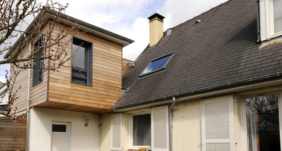 Surélévation bois, la solution d'agrandissement poids plume !