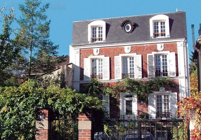 Surélévation de toiture pour cette maison de maître à Fontenay-aux-Roses
