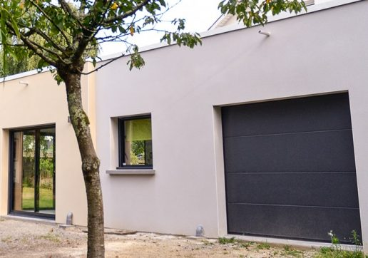 agrandir avec un garage toit plat