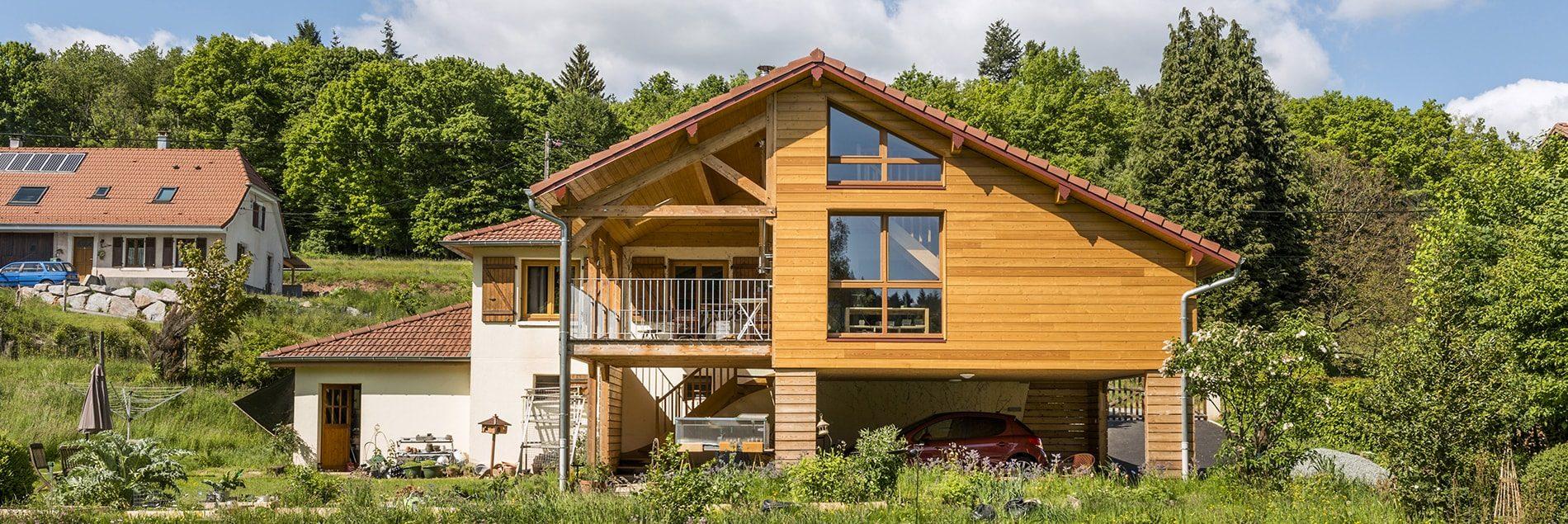 agrandir sa maison à Annecy