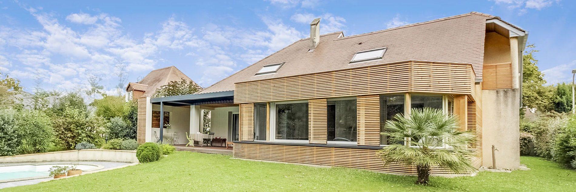 Agrandir sa maison bois à Lyon Sud Ouest