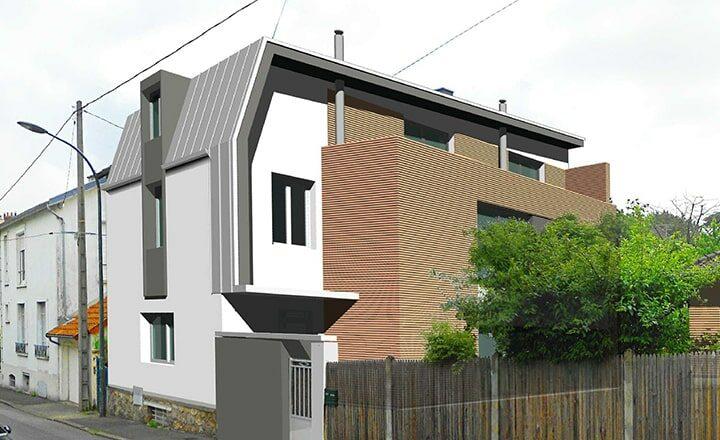 agrandissement maison de ville