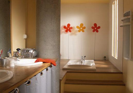 agrandissement salle de bain