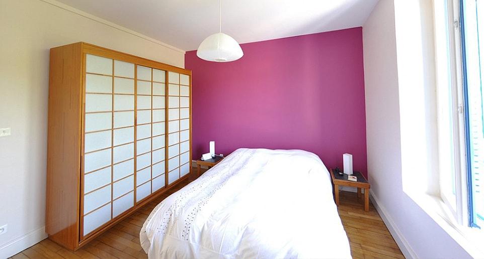 chambre dans extension maison avec bureau