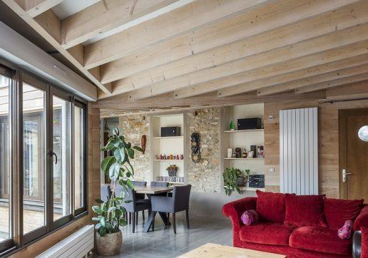 combien coute une extension de maison en bois
