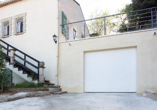 cout construction garage toit plat