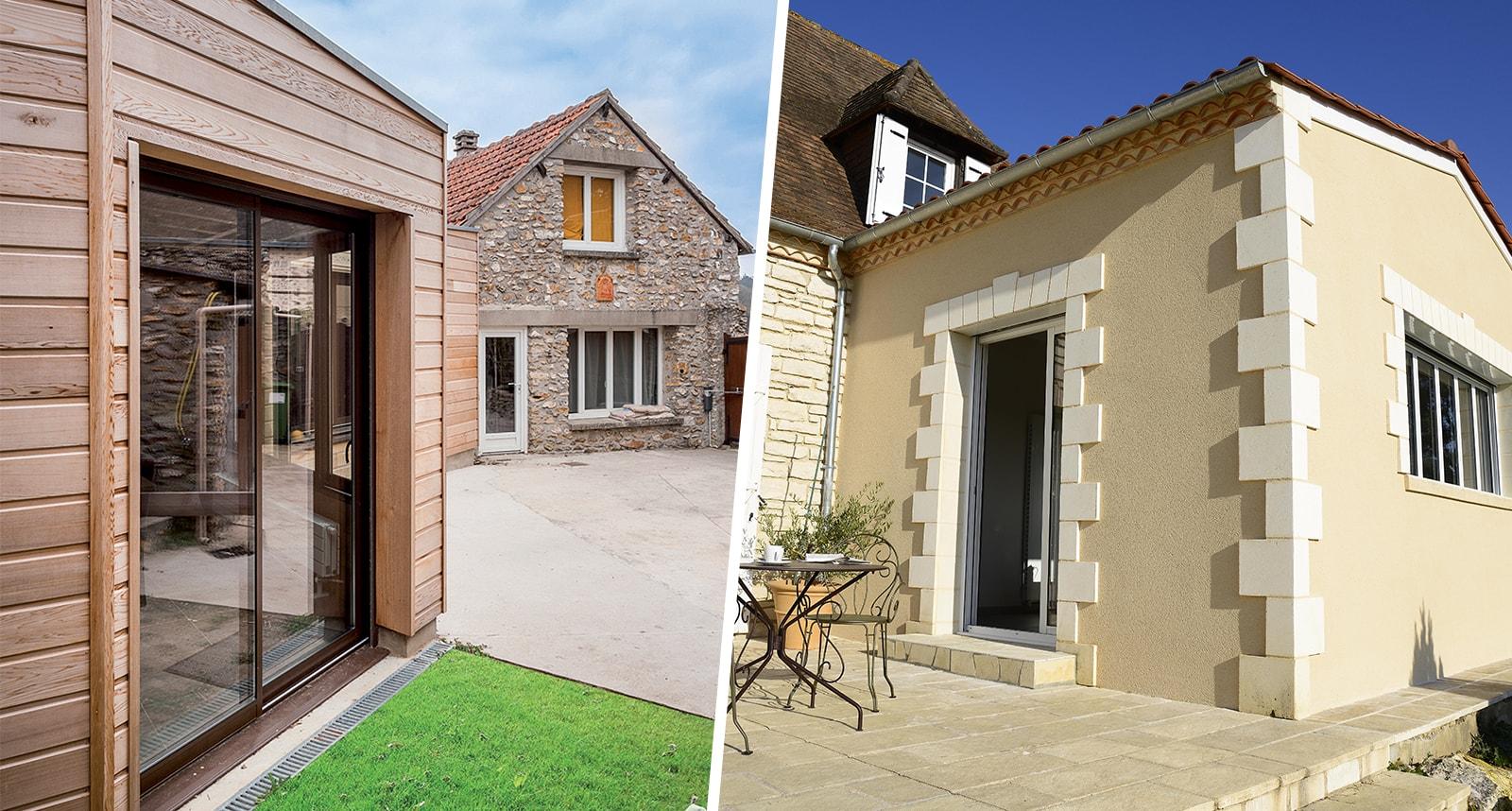 Devis Extension Maison  Chevilly-Larue ▷ Agrandissement Bois, Acier, Parpaing
