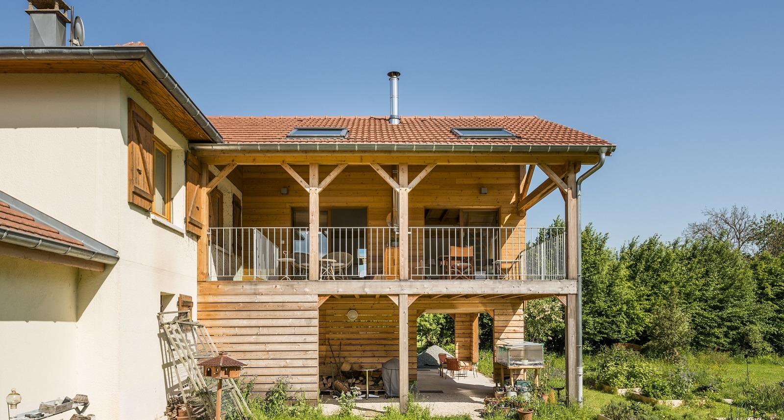 Construire Une Terrasse En Bois Surelevee extension bois sur pilotis comment ça marche ? - agrandir ma