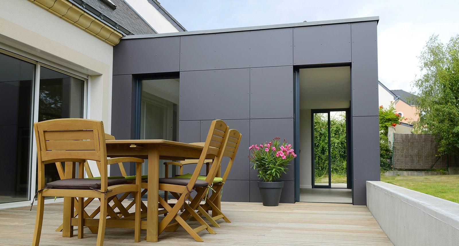Devis Extension Maison  Saumur ▷ Agrandissement Bois, Acier, Parpaing