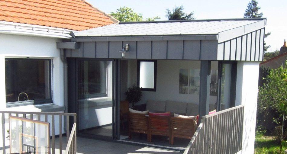 Focus sur l'extension de maison en acier