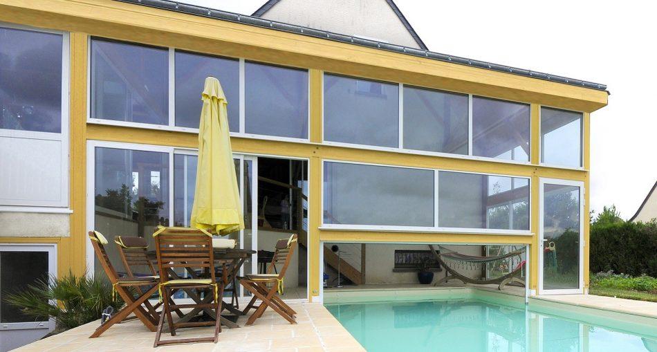Comment faire une extension maison avec piscine couverte?
