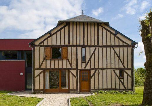 extension maison colombage