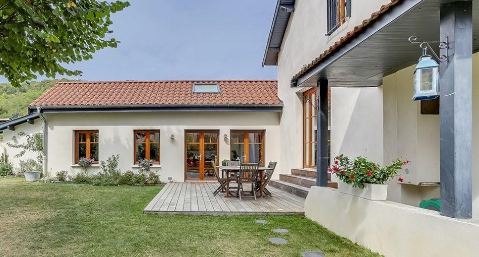 Extension maison contemporaine: le choc des styles!