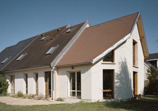 extension maison cote pignon