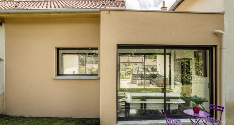 Construire une extension maison en u