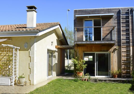 extension maison jardin