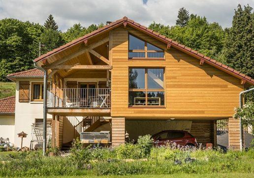 extension maison sur pilotis