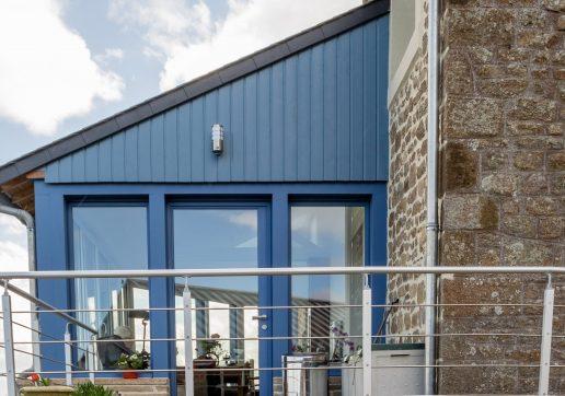 extension maison toit 1 pente