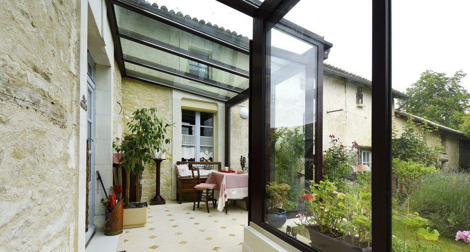 Choisir une extension toit en verre