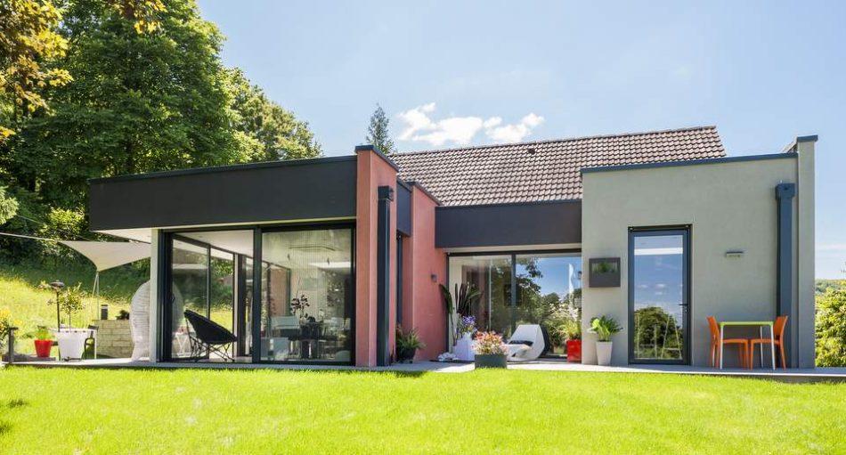 Nos idées d'extensions de maison à toit plat