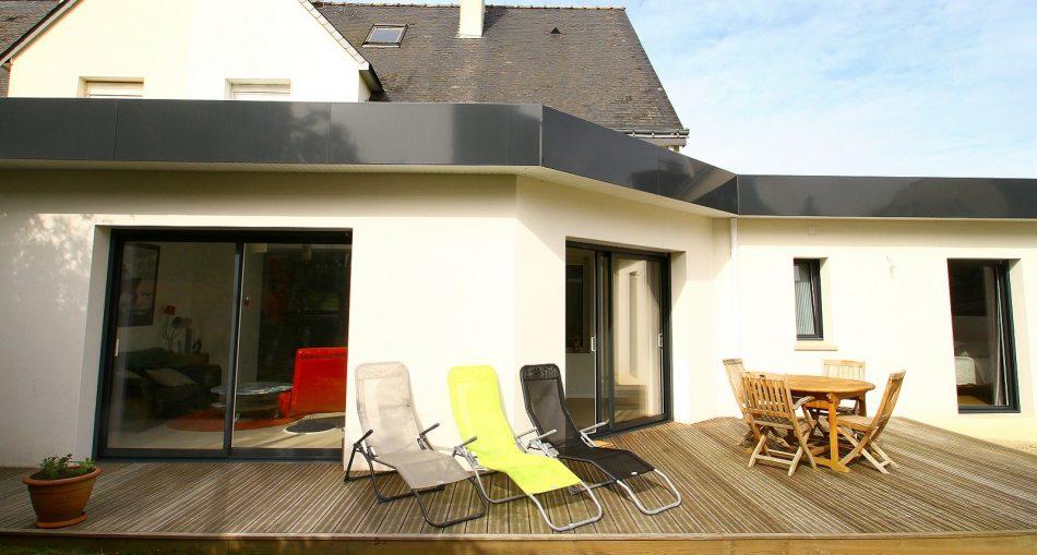 Tout savoir sur l'extension toit plat bac acier