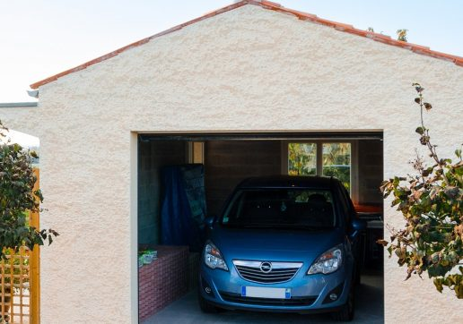 garage en dur - parpaing