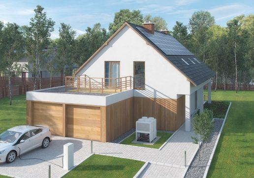 garage toit plat beton