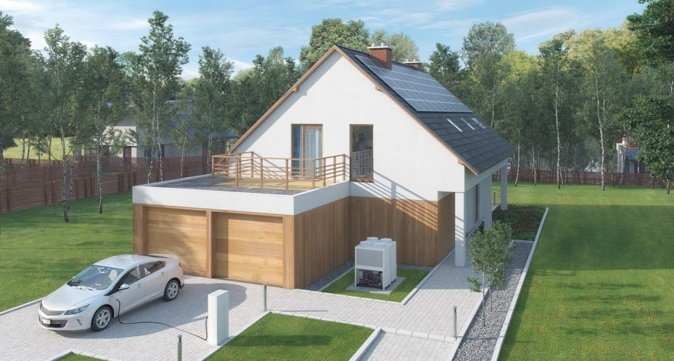 Faire construire un garage toit plat beton