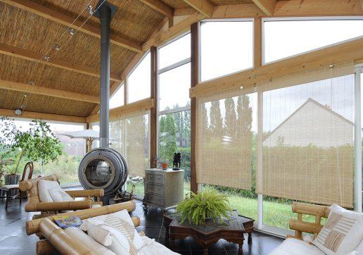 modele de veranda en bois