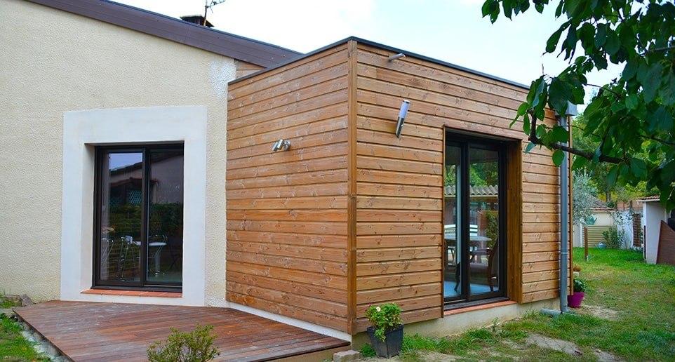 Petite extension bois pour maison, les formalités ? - Agrandir ma