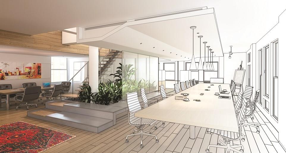 plan extension maison 20m2