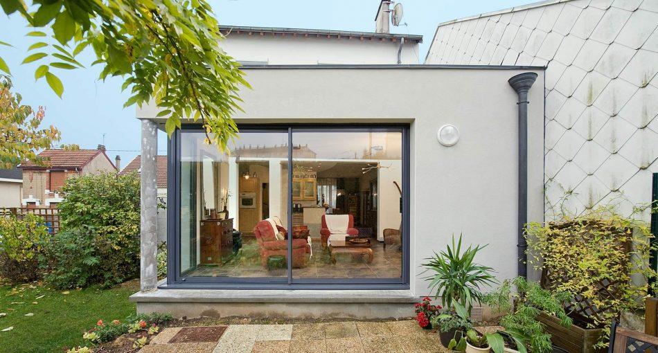 Comment faire le plan d'une extension maison toit plat ?