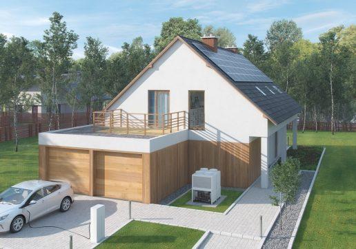 plan garage double indépendant