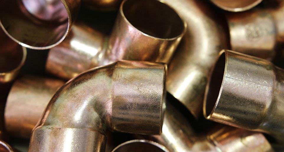 plomberie au cuivre