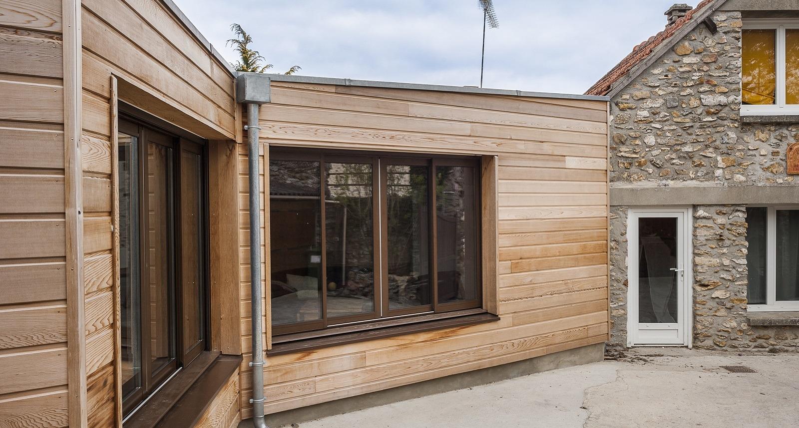 Devis Extension Maison  Laval → Agrandissement Bois, Acier, Parpaing