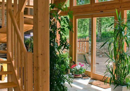 prix d'une extension véranda en bois