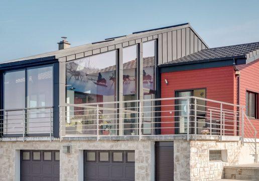 surelevation maison zinc