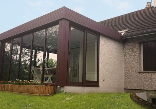 veranda acier ou alu