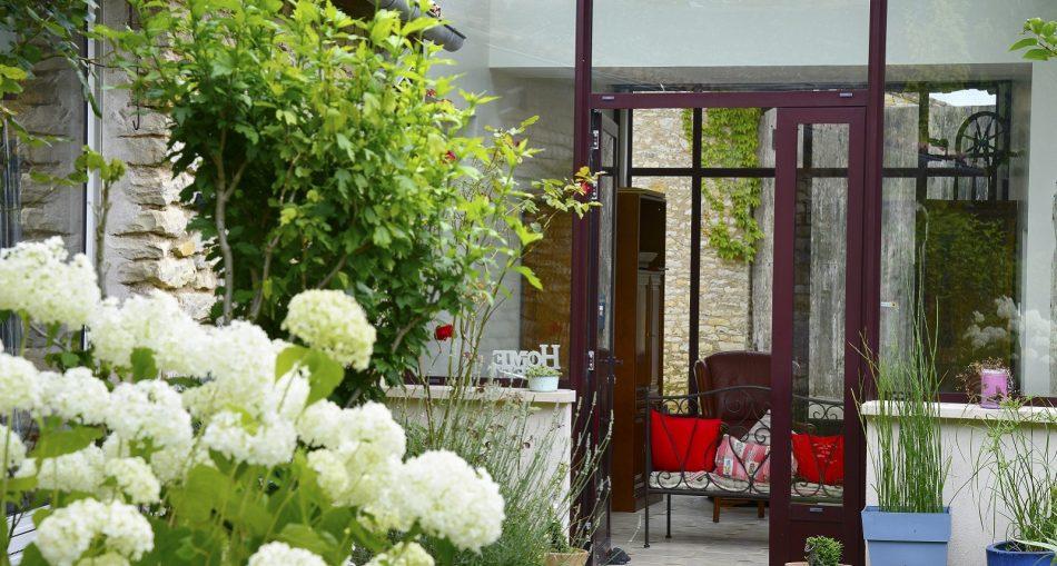 Focus sur la veranda alu style atelier