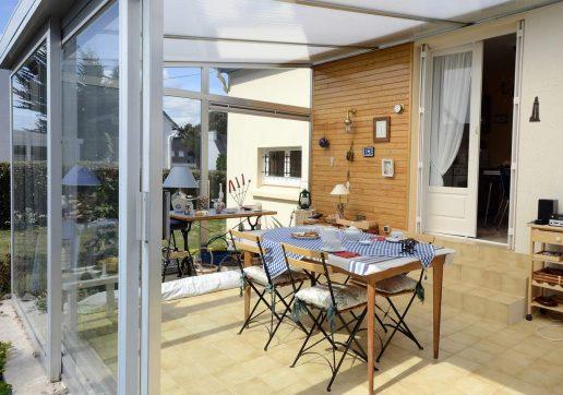 veranda alu toit plat